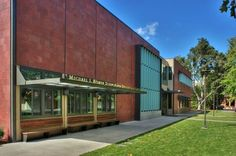 Michael J. Homer Science and Student Life Center at Sacred Heart Schools, #LEED Platinum, Atherton, Calif. designed by Leddy Maytum Stacy Architects