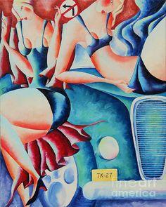 Oil Paintings, Wall Art, Oil On Canvas, Wall Decor, Art Oil