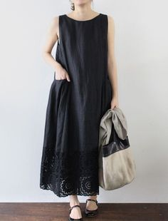 [Envelope Online Shop] Donna - Wise rows of crochet/lace for the hem