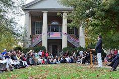 Presidential debate tradition courtesy of Davidson College
