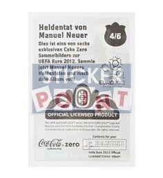 Panini Em Euro 2012 Manuel Neuer Sticker 4 von 6 hinten