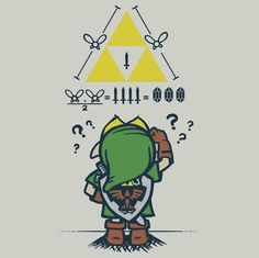 A Link to the Math. See Kara, Link Can't Math, Like me!