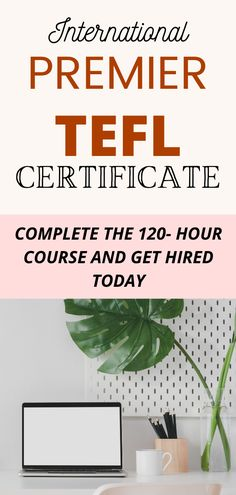 Work from home ideas - Online English Tutor with TEFL certificate. Complete Premier TEFL 120 hour certificate and get placed to teach english online. #workfromhomeideas #workfromhome #wfh Teaching Jobs, Teaching Writing, Tefl Certification, Teaching Positions, Teaching English Online, Job Work, Work From Home Tips, Take The First Step, Fun At Work