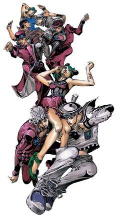Their love is no longer twisted Manga Anime, Manga Art, Anime Art, Bizarre Art, Jojo Bizarre, Fanart, Jojo's Bizarre Adventure, Character Art, Character Design