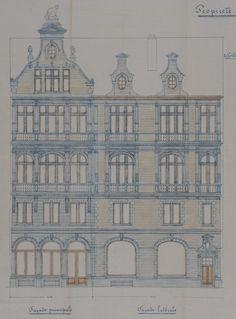 Schaerbeek - Place des Bienfaiteurs 25 - Rue Frans Binjé 1 - DECHAMPS M.