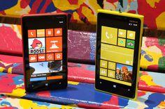 Nokia Lumia 820 and Lumia 920