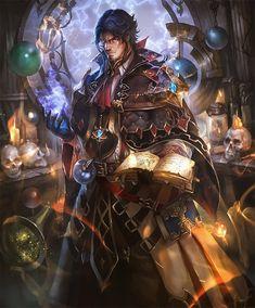 Card: Professor of Taboos Fantasy Wizard, Fantasy Warrior, Fantasy Rpg, Dark Fantasy Art, Fantasy Artwork, Fantasy Magician, Dnd Wizard, Fantasy Character Design, Character Drawing