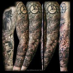 Tattoo Manchester United Man Utd Tattoo, Beard Tattoo, Male Tattoo, Soccer Tattoos, Football Tattoo, Lion Tattoo Sleeves, Sleeve Tattoos, Tattoos For Guys, Cool Tattoos