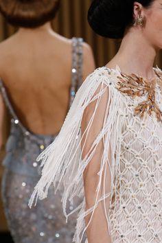 prada-milahno: Detail at Chanel Spring 2016 Couture