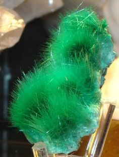 Bronchantite, Keobola Mine, Africa (miniature)