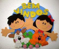 Placa de Porta ♥ Crianças e Pets