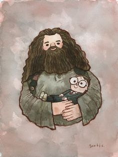 Tonight is the Harry Potter Tribute Exhibit at Gallery Nucleus.  It will probably be nuts with Harry Potter fans.  The Hagrid painting i did for it is now up for auction! you can go bid on it HERE. The auction ends on July 15th!
