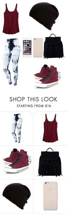 """""""First Day of School!?"""" by rorschachsjournal ❤ liked on Polyvore featuring American Eagle Outfitters, Converse, NLY Accessories, Belmondo and Black Apple"""