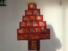 Advent calendar with QR codes. Every day we get a new surprise!