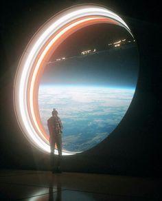 outer space window / sci fi / fantasy / dreamy