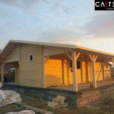 "Casa ""Cristian Dragus"" - Case din Lemn Castellan House Styles, Interior, Outdoor Decor, Home Decor, Houses, Decoration Home, Indoor, Room Decor, Interiors"