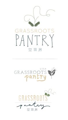 Eva Black Design : Grassroots    I am obsessed with each and every one of these fonts.