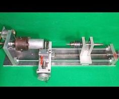 Homemade Wood Metal Mini Mill Lathe by Aluminium Alloy and CNC Slide