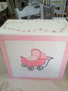 pink for a girl or somewhere for the toiletries to hide!