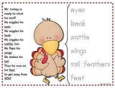 Hope your turkeys enjoy this movement poem!