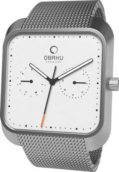 2e08c8b966f (Limited Supply) Click Image Above: Obaku Harmony Mens Multifunction  Stainless Watch - Silver. Ure ...