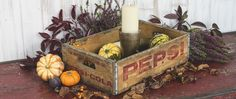Nothing makes seasonal decorating easier than vintage wooden crates. In fact, decorating in general is easy with vintage crates. They make excellent storage, Vintage Wooden Crates, Vibrant Colors, Colours, Shabby Chic Style, Seasonal Decor, Uk Fashion, Furniture, Blog, Vintage Wood Crates