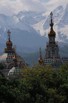 Zenkov Cathedral, Alma-Ata, Kazakhstan - May 2009 by Akitoshi Iio, via Flickr