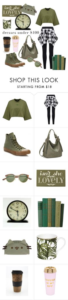 """""""Untitled #121"""" by antilope1 ❤ liked on Polyvore featuring Converse, SW Global, Home Decorators Collection, Westclox, Pusheen, House of Hackney, Free People and ban.do"""