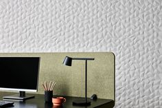 Noisy workspace getting you (or your employees) down? Here are nine acoustic solutions - News - Frameweb Woven Image, Acoustic Wall Panels, Decorative Room Dividers, Timber Slats, Floating Lights, Ceiling Hanging, Ergonomic Chair, Italian Furniture, Inspiration