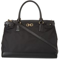 Salvatore Ferragamo - 21E164 Batik (Nero) - Bags and Luggage - product - Product Review