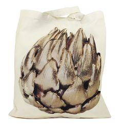 B+F / Gilded Tote / Artichoke Artichoke, Totes, Artichokes, Bags, Big Bags, Artichoke Dip