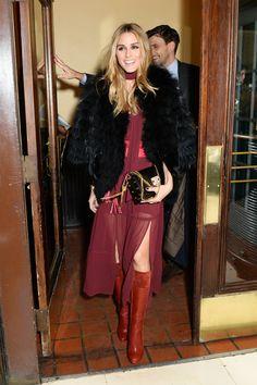 Olivia Palermo at Fashion Week Fall 2016   POPSUGAR Fashion