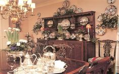 These are from Charles Faudree's then house and his sister's place dressed for Christmas. For obvious reasons, her Club room pic has been a favorite of mine for years. Jim CF's house: His sister's house: The Club room