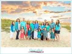 beach family photos, large family photo, beach session, Fresh Look Photography