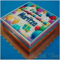 Gelatina Sorpresa: gelatina rellena de torta