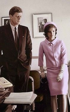President John Kennedy and First Lady Jackie Kennedy