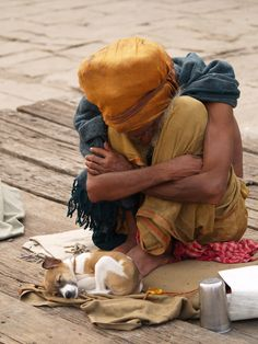 Sadhu. Varanasi. India.