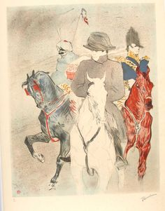 "TOULOUSE-LAUTREC Henri de, 1864-1901 (France), Napoleon. Limited edition stone stamped lithograph with Lautrec Museum Stamp, Certificate included. Arches paper, 21"" x 29 1/2"" Sale price of $350.00 includes shipping."