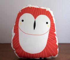 Ideas....Plush Owl Pillow