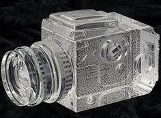 Fotodiox Crystal Medium Format Camera Display Model