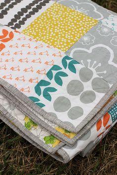 Bella Patchwork Quilt by Jeni Baker, via Flickr