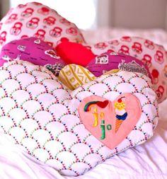 DIY Pillow DIY Scarlets How to Sew a Heart Pillow Tute DIY Pillow