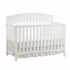 Charleston Crib by Graco: no rail needed for conversion, 3 position mattress height adjustment, 169.99 @ Burlington/Baby Depot, compare at 209.99, 179.00 @ Walmart