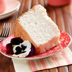 Heavenly Angel Food Cake Recipe from Taste of Home -- shared by Fayrene De Koker of Vancouver, Washington