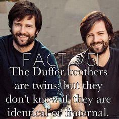 Stranger Things Facts Duffer brothers