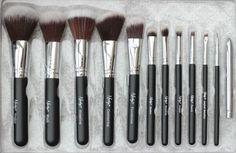 Nanshy   Masterful Brush Collection in Black Onyx  #nanshybrushes #makeupbrushes #nanshymasterful #makeuppixi3 #beautychamber #blackonyx #mua