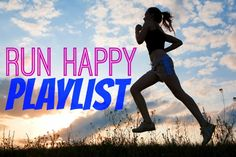 Silhouette woman run under blue sky with clouds and sun Best Workout Songs, Workout Music, Fun Workouts, Workout Routines For Women, Workout Schedule, Running Music, Running Playlists, Anytime Fitness, Run Happy