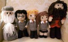 Crochet Harry Potter Dolls                                                                                                                                                      More