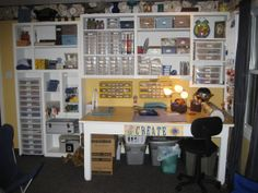 scrapbooking rooms pictures and ideas | Scrapbook Room, This is my scrapbook room. I re-used some existing ...