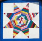 Quilt name: Lemoyne Star